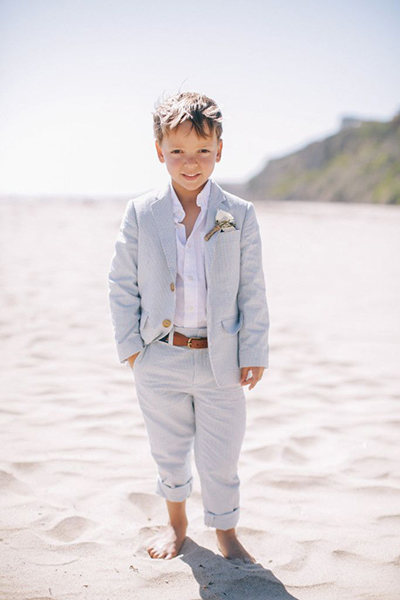 Cómo Vestir A Los Niños Para Una Boda En La Playa Monet